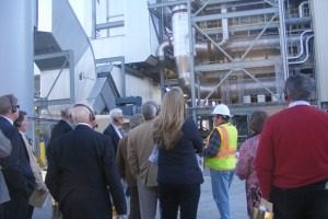 Ribbon cutting & plant tour at NOVEC Energy Production, Halifax County Biomass plant